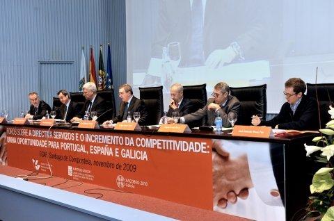 Imaxes quinta parte - Foros sobre a directiva servizos e o incremento da competitividade: Unha oportunidade para Portugal, España é  Galicia